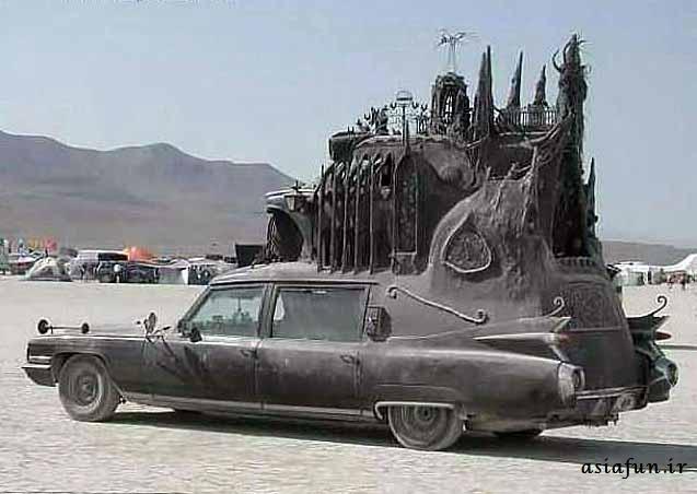 ماشین های عجیب