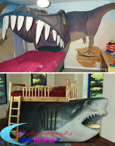تخت خواب های عجیب