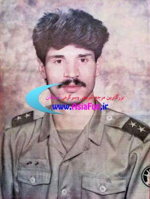 تصویری از دوران سربازی علی دایی
