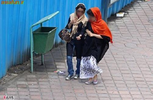 عکس بی حجاب دختران ایرانی