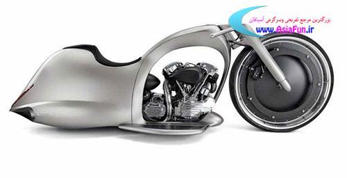 موتور سیکلت, ماهی, عکس