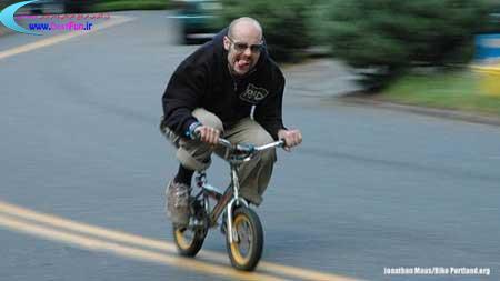 عجیبترین مسابقات دوچرخه سواری(زوبمبینگ) + عکس