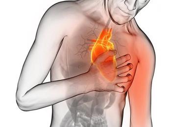 احساس درد در قفسه سینه, بیماریهای قلبی