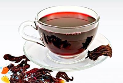 گیاه چای ترش برای کاهش چربی شکمی