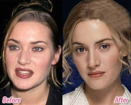 بازیگر های با آرایش زیبا میشوند(عکس)