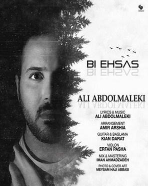 متن ترانه علی عبدالمالکی به نام بی احساس