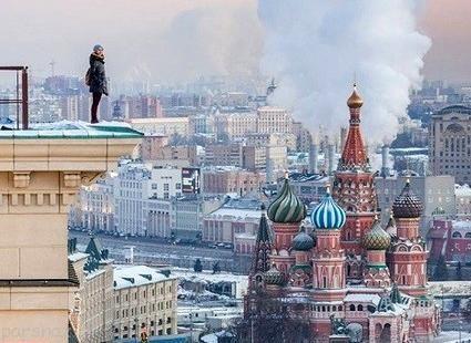دختر روسی و سلفی های اعجاب انگیزش را ببینید