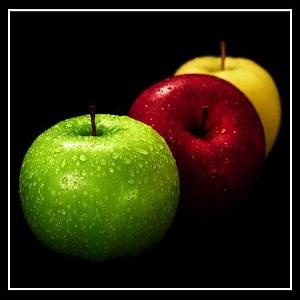 تفاوت میان سیب زرد وقرمز چیست؟