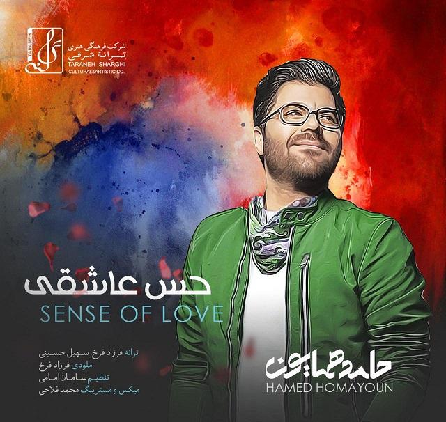 متن آهنگ حس عاشقی از حامد همایون