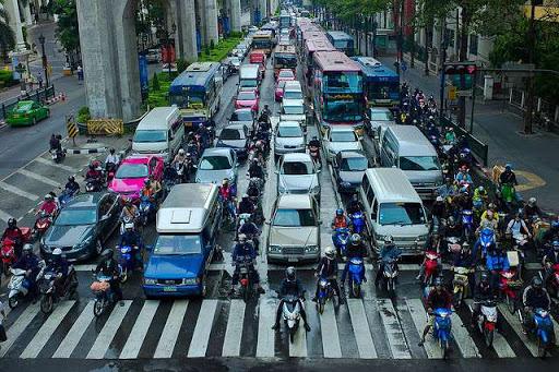 رانندگی در تایلند