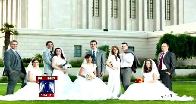 ازدواج 5 برادر و خواهر در يک روز