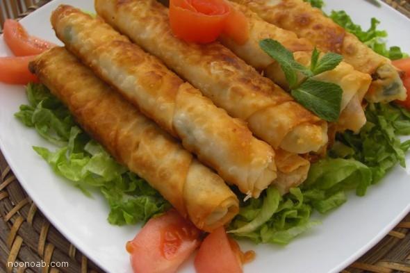 طرز تهیه( بورقی ترکی)  غذای سنتی ترکیه