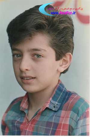 عکس هایی از دوران کودکی بهرام رادان