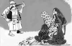 سِیر مرد سالاری در ایران (طنز)