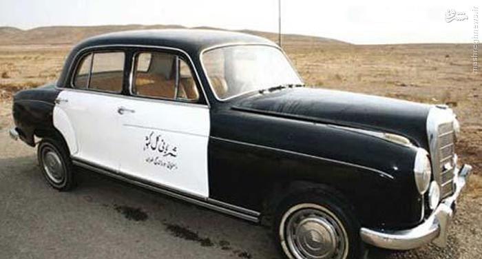 ماشین پلیس قدیم ایران